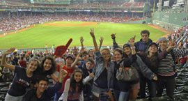 Match de baseball des Red Sox
