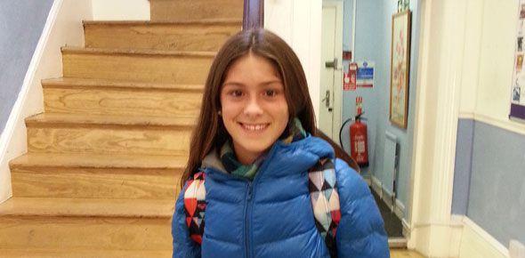 Francisca  Chevallier Boutell , 13, Argentina