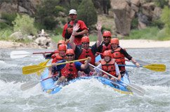 Excursion au «Grand Canyon suisse» et rafting